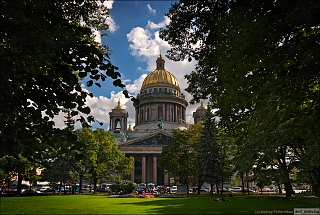 St. Peterburg. St. Isaac's Cathedral.