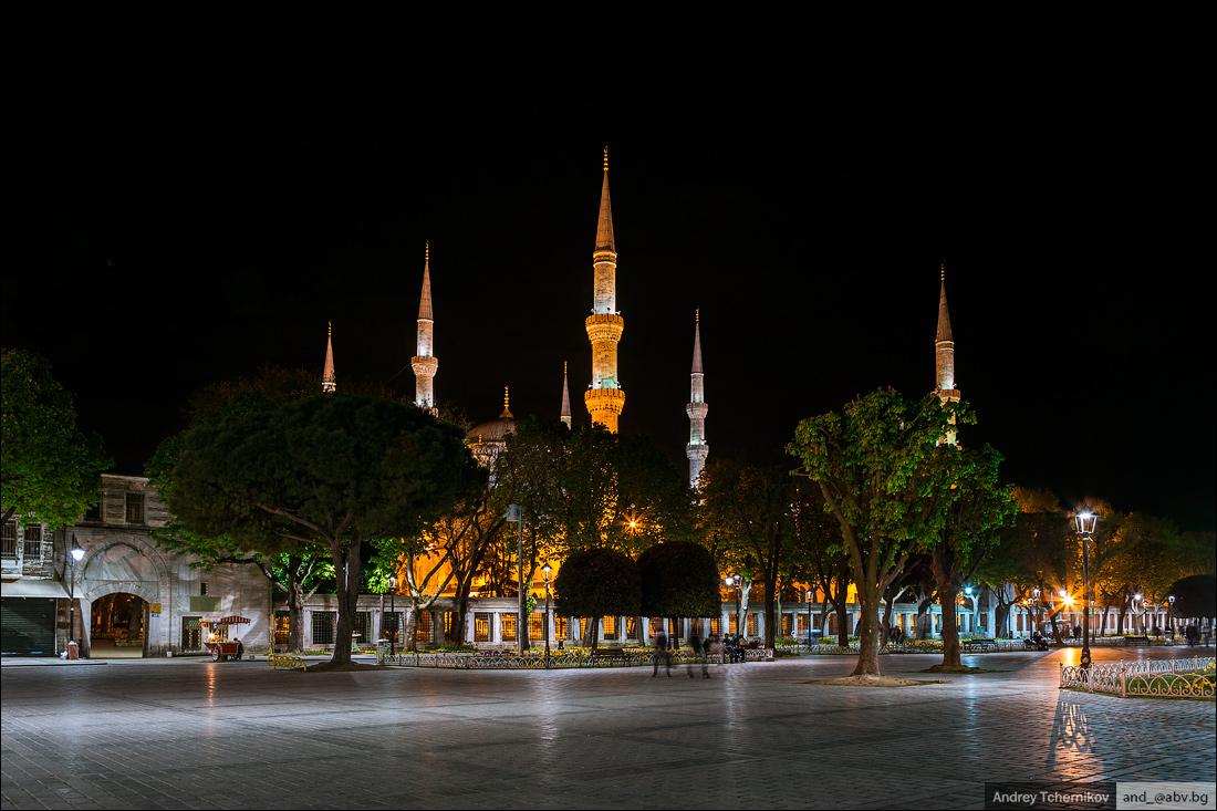 Турция. Стамбул. Султанахмет.