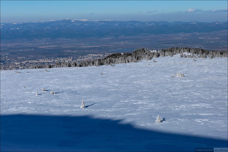 Зимняя прогулка в горы...
